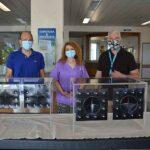 Κουβούκλια εξέτασης και διασωλήνωσης ασθενών από το Πολυτεχνείο Κρήτης στο Γενικό Νοσοκομείο Χανίων