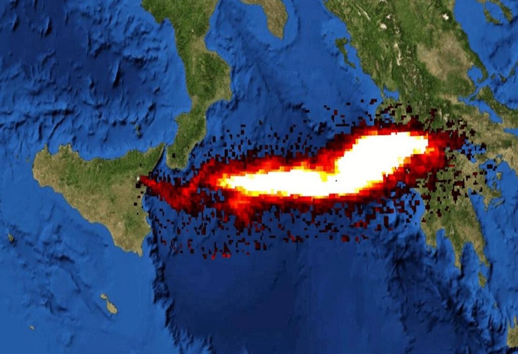 Έφτασε στην Ελλάδα νέφος από την έκρηξη της Αίτνας – Η εικόνα από τον δορυφόρο